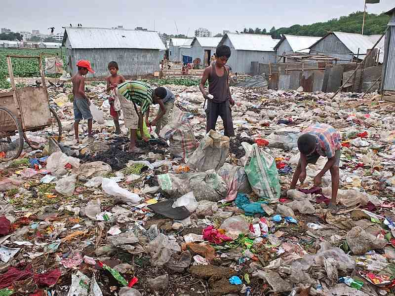 el pais mas contaminado del mundo