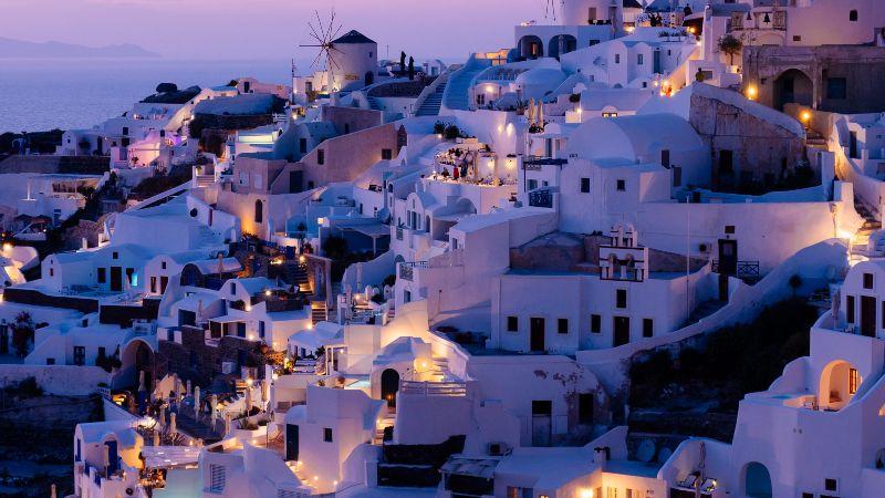 isla santorini grecia
