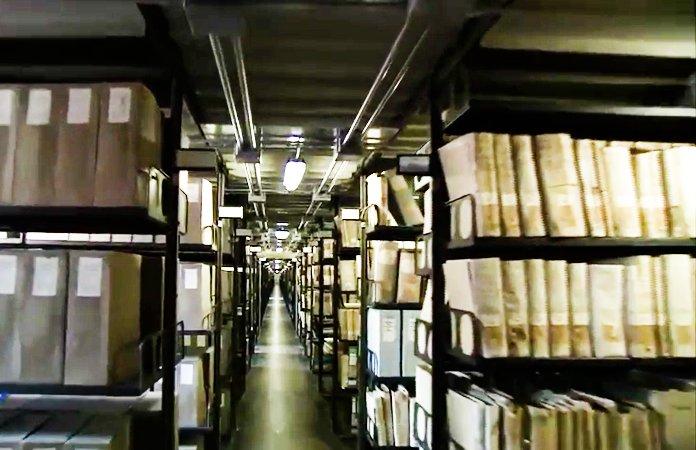 archivos secretos del vaticano