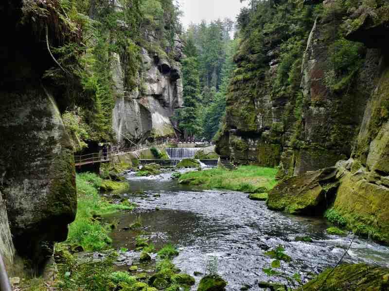 desfiladero de Bohemia