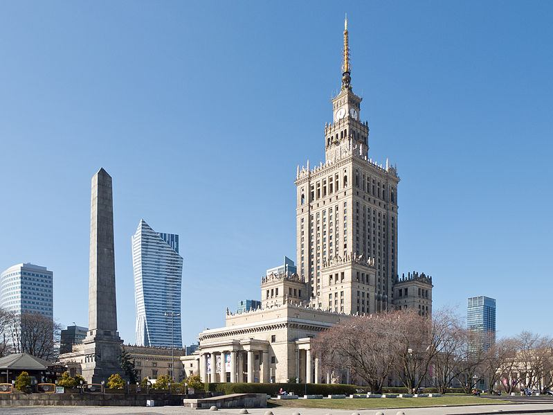 palacio ciencia y cultura varsovia