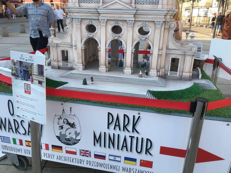 parque miniatura varsovia