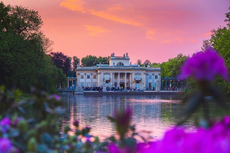 palacio lazienki varsovia