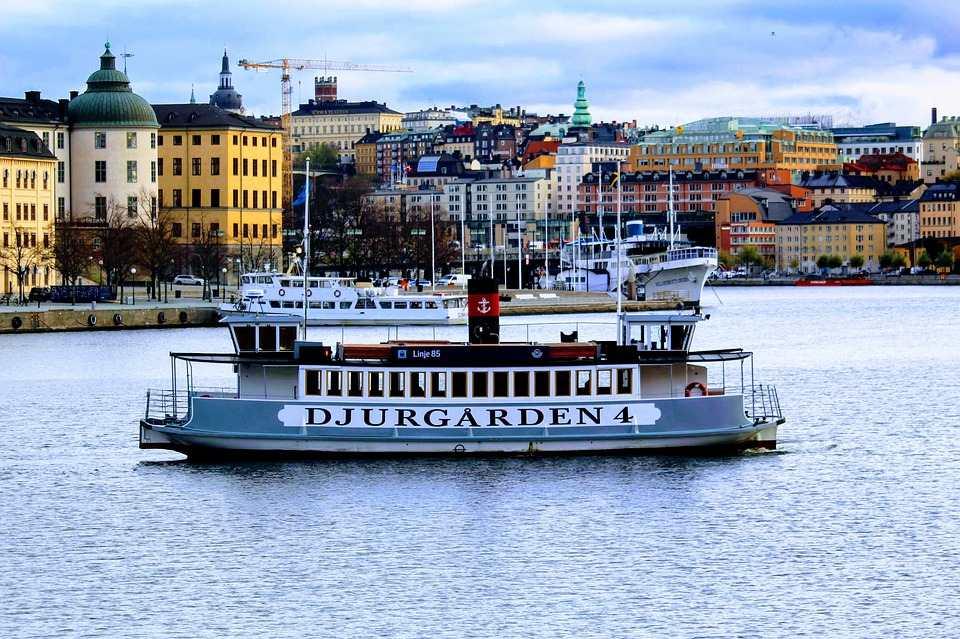 Tour en barco en Estocolmo