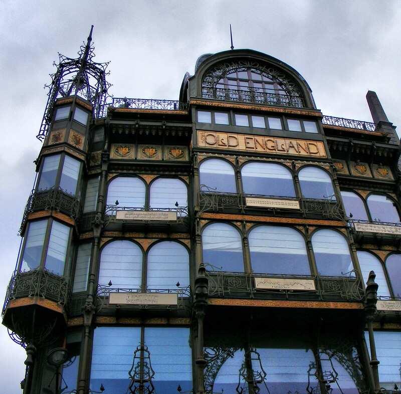 edificio old england bruselas